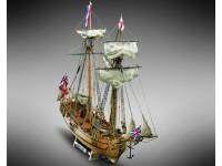 Mamoli 1/54 goletta Halifax kit modellismo navale in legno