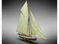 Mamoli 1/50 sloop Puritan Coppa America 1885 modello da montare in legno