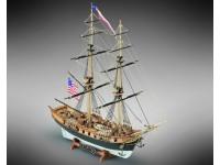 Mamoli 1/100 Lexington brigantino americano modello da montare in legno