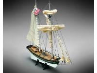 Mamoli 1/45 Schooner americano Alert modello da montare in legno