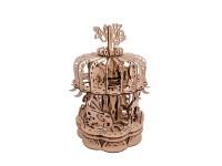Mr.Playwood giostra carosello modello meccanico in legno da costruire