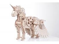 Mr.Playwood unicorno modello meccanico in legno da costruire