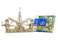 Mr.Playwood ponte pedonale modello meccanico in legno da costruire