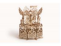 Wood Trick giostra carosello puzzle meccanico 3D