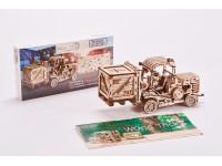 Wood Trick carrello elevatore puzzle meccanico 3D