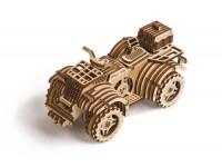 Wood Trick quad puzzle meccanico 3D