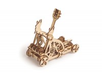 Wood Trick catapulta puzzle meccanico 3D