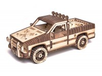 Wood Trick fuoristrada pick-up puzzle meccanico 3D