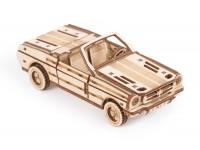 Wood Trick auto cabrio puzzle meccanico 3D