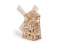 Wood Trick mulino a vento puzzle meccanico 3D