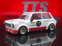 TTS 1/24 Autobianchi A112 n.15 scuderia Vesuvio modellino slot car