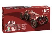 Italeri 1/12 Alfa Romeo 8C 2300 Roadster scatola di montaggio