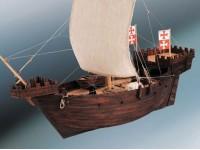Dusek 1/72 Hanse Kogge kit montaggio nave in legno