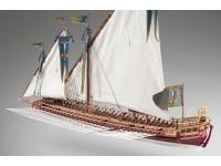 Dusek 1/72 La Real ammiraglia della Holly League scatola di montaggio in legno