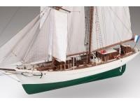 Dusek 1/50 La Belle Poule nave scuola della marina francese scatola di montaggio in legno