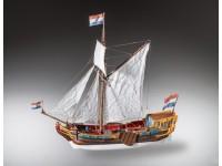 Dusek 1/48 Statenjacht olandese XVII secolo scatola di montaggio in legno