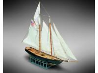 Mini Mamoli 1/140 schooner America wooden mounting model