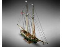 Mini Mamoli 1/100 schooner Flying Fish modello da montare in legno