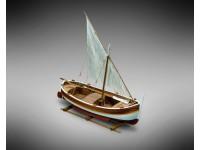 Mini Mamoli 1/28 meditteraneo goiter a Latin sail model to be mounted in wood