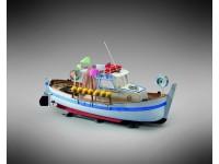 Mini Mamoli 1/35 goiter cabin Moby Dick kit naval modeling in wood