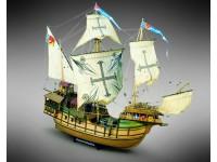 Mamoli 1/54 caracca atlantica Sao Miguel kit in legno da montare