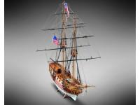 Mamoli 1/64 Blue Shadow Brigantino della Marina degli Stati Uniti kit in legno da montare