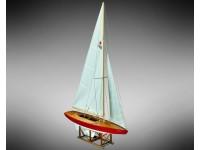 Mamoli 1/12 monotype racing Jenny wooden mounting box