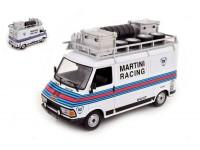IXO MODELS 1/18 FIAT 242 ASSISTENZA RALLY MARTINI RACING MODELLINO