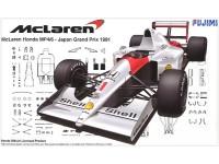 Fujimi 1/20 McLaren Honda MP4/6 GP Giappone 1991 scatola di montaggio