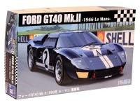 Fujimi 1/24 Ford GT40 vittoria Le Mans 1966 scatola di montaggio
