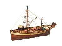 OcCre 1/45 barca da besca Palamos kit modello navale in legno