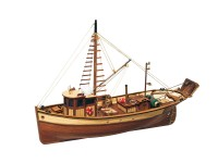 OcCre 1/45 besca boat Palamos kit wooden naval model