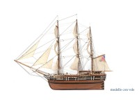 OcCre 1/60 baleniera Essex kit modello navale in legno