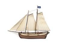 OcCre 1/50 vascello Polaris kit modello navale in legno