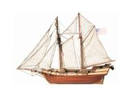 OcCre 1/100 goletta Albatros kit modello navale in legno