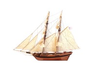 OcCre 1/53 clipper Dos Amigos kit modello navale in legno