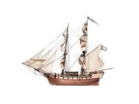OcCre 1/80 brigantino Corsair kit modello navale in legno