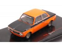 IXO MODELS 1/43 BMW ALPINA 2002 Tii 1972 ORANGE/BLACK MODELLINO