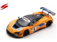 SPARK MODEL 1/43 McLaren 720S GT3 N.5 GULF 12H 2018 MODELLINO