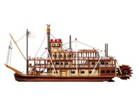 OcCre 1/80 battello del Mississippi kit modello navale in legno