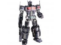 Mu Model Transformers G1 - Leader Grade Optimus Prime Full Version black modello in metallo da montare
