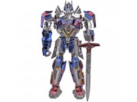 Mu Model Transformers T5 - Optimus Prime modello in metallo da montare