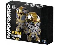 Mu Model Transformers T5 - Bumblebee Changable Head modello in metallo da montare