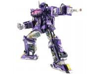 Mu Model Transformers G1 - Shockwave modello in metallo da montare
