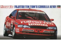 Hasegawa 1/24 Fujitsu Ten Tom's Corolla AE101 scatola di montaggio