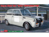Hasegawa 1/24 Honda N360 NI Renn-Version scatola di montaggio