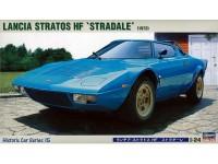 Hasegawa 1/24 Lancia Stratos HF Stradale scatola di montaggio
