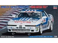 Hasegawa 1/24 Minolta Supra Turbo A70 1988 Inter Tec scatola di montaggio