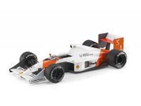 GP REPLICA 1/18 McLaren MP4/5 N.1 1989 AYRTON SENNA MODELLINO