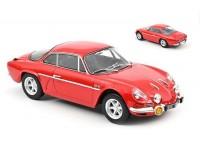 NOREV 1/18 ALPINE A110 1600S 1969 ROSSA MODELLINO
